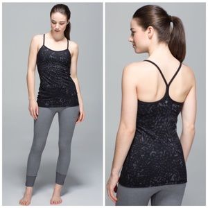 Lululemon Power Y Tank Star Crushed Size 6